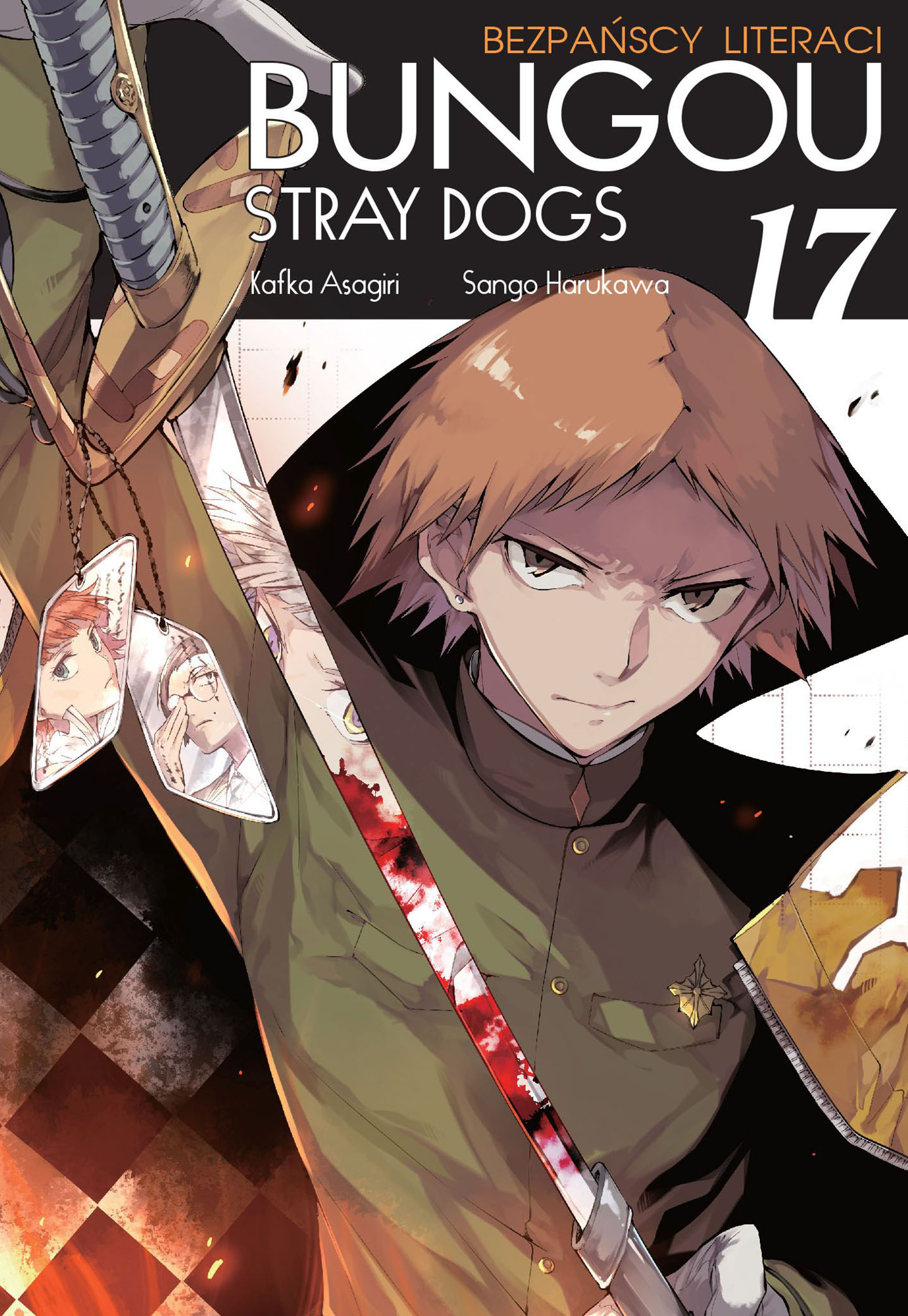 Bungou Stray Dogs - Bezpańscy Literaci: tom 17