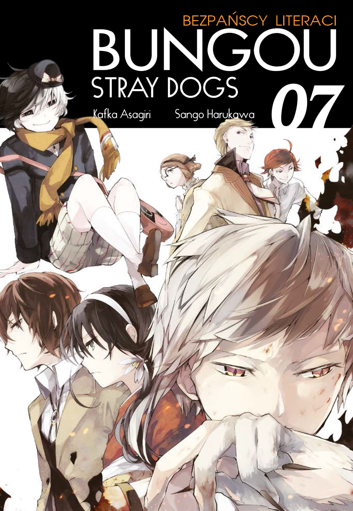 Bungou Stray Dogs - Bezpańscy Literaci: tom 7