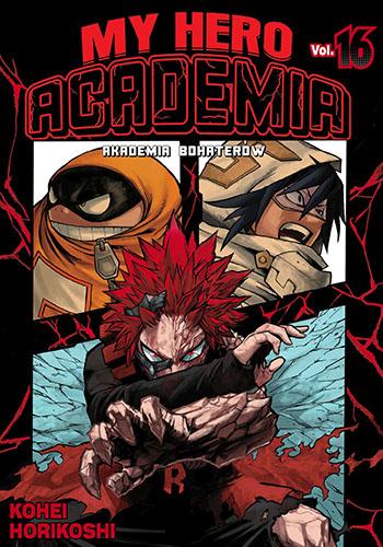 My Hero Academia- Akademia bohaterów - tom 16