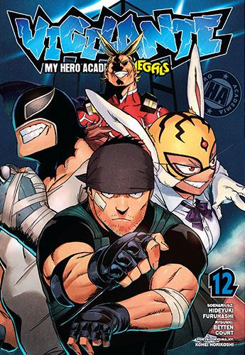 My Hero Academia- Vigilante  - tom 12
