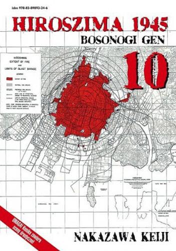 Hiroszima 1945. Bosonogi Gen