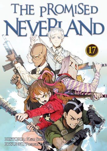 The Promised Neverland: tom 17