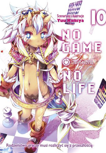 No Game No Life light novel