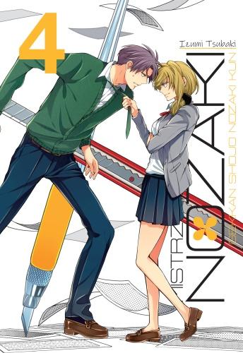 Mistrz romansu Nozaki - tom 4
