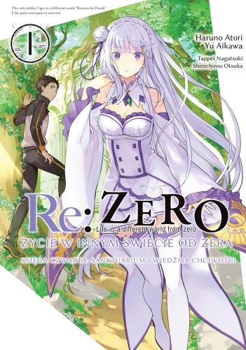 Re: Zero- Życie w innym świecie od zera - Księga czwarta: Sanktuarium i Wiedźma Chciwości