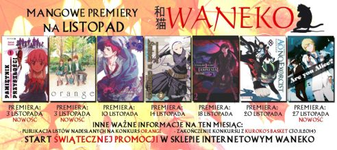 waneko monthly listopad 2014