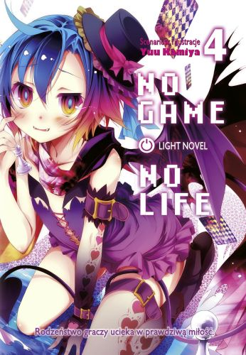 No Game No Life light novel - tom 4