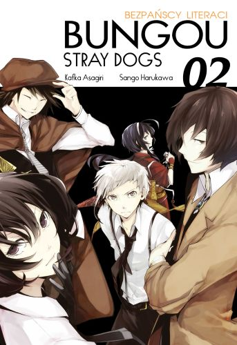 Bungou Stray Dogs - Bezpańscy Literaci: tom 2