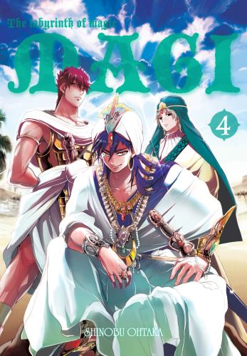 Magi: Labyrinth of Magic
