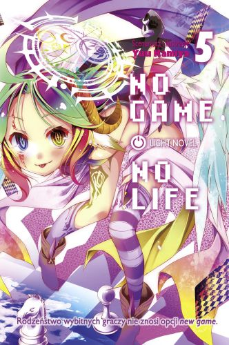 No Game No Life light novel - tom 5