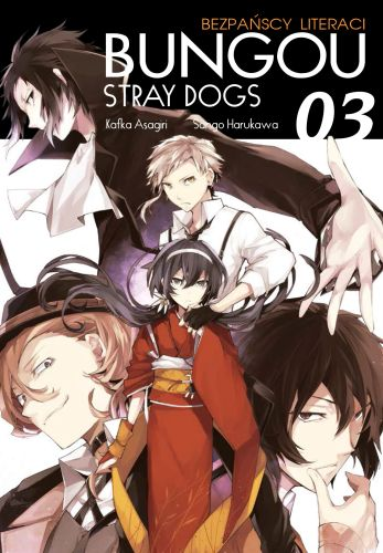 Bungou Stray Dogs - Bezpańscy Literaci: tom 3