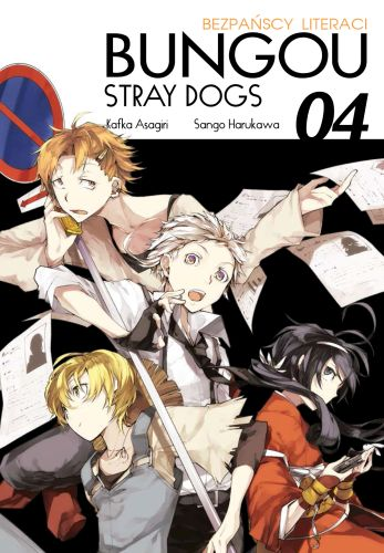 Bungou Stray Dogs - Bezpańscy Literaci - tom 4