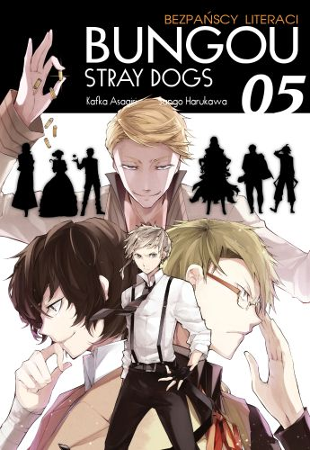 Bungou Stray Dogs - Bezpańscy Literaci: tom 5