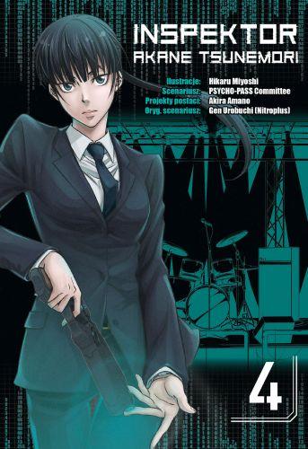 Inspektor Akane Tsunemori - tom 4
