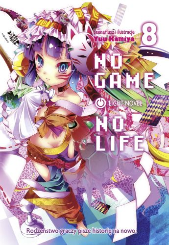No Game No Life light novel - tom 8
