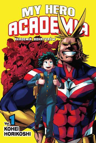 My Hero Academia- Akademia bohaterów - tom 1