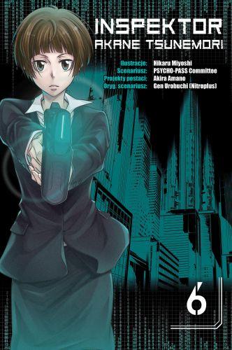 Inspektor Akane Tsunemori - tom 6