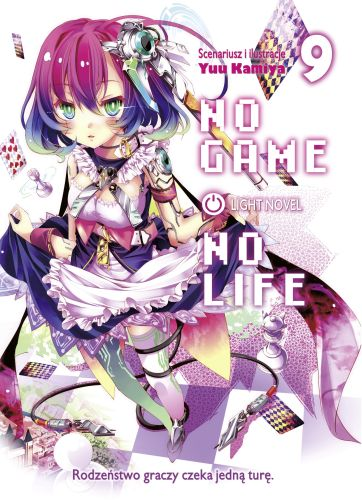 No Game No Life light novel - tom 9