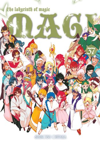 Magi: Labyrinth of Magic - tom 37 [OSTATNI TOM!]