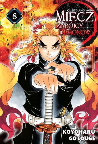 Miecz zabójcy demonów - Kimetsu no Yaiba - tom 8